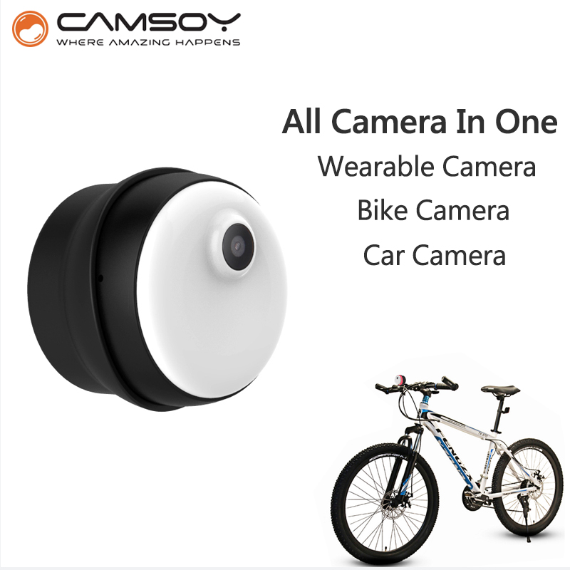 Wearable Mini Camera CAMSOY M1 Bike Micro Camera Internal 8GB Memory 720P HD Body Camera Non-button Design Mini DV DVR Camera amandeep kaur parminder singh and ginni sharma micro strip wearable antenna