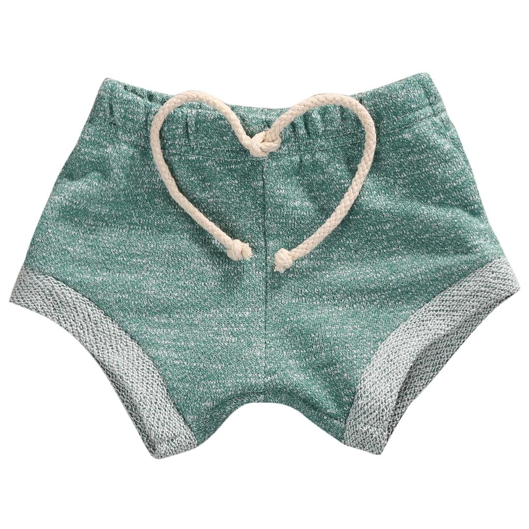2018 Heißer Sommer Kleinkind Kinder Jungen Mädchen Shorts Einfarbig Kinder Seitenschuhe Casual Kleidung 0-4 T