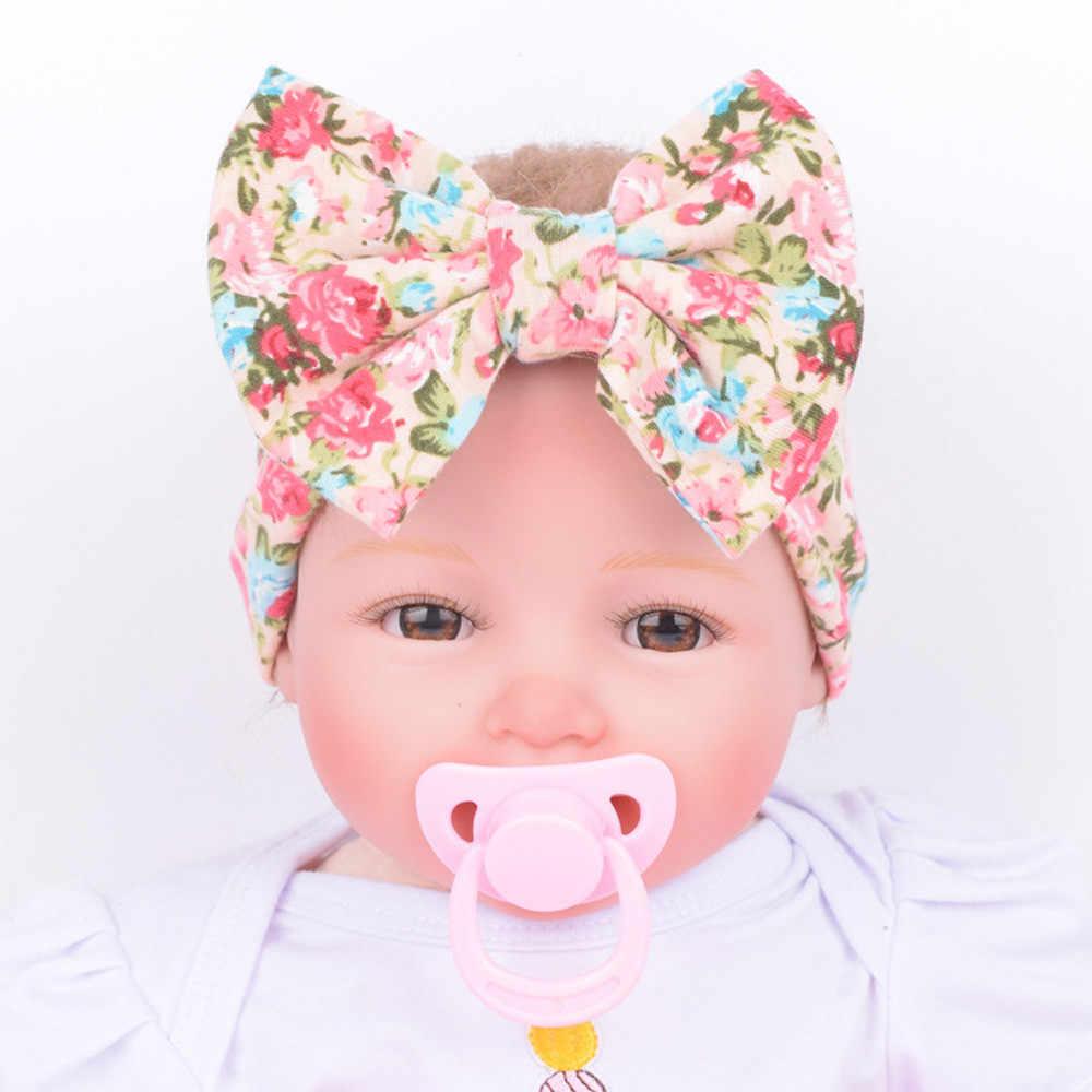 Bayi Ikat Kepala Bayi Rambut Aksesoris Bayi Anak Gadis Bando Putri Busur Ikatan Simpul Hairband Sorban Ikatan Simpul Headwrap Hairband