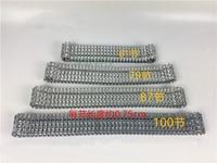 Metal Track for DIY Robot Tank Car Metal Chain Belt caterpillar Width 4.5cm