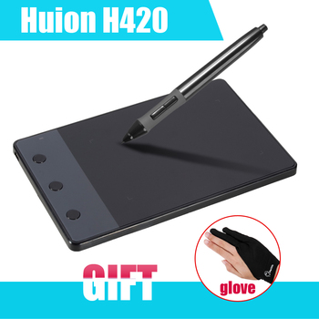 New huion h420 420 graphics drawing tablet 4 x 2 23 usb digital pen for pc.jpg 350x350