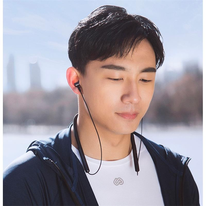 Original Xiaomi Bluetooth Collar Earphone Sport Wireless Bluetooth Headset with Mic Play Dual Dynamic Earbuds Headset