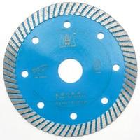 """ממ עבור 105/115/125 מ""""מ מסור יהלום סגנון Wave עבור אריח פורצלן ניקוי קרמיקה חיתוך במסור סטון גרניט ושיש דיסק אגרסיבי (1)"""
