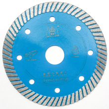 105/115/125mm Wave Style Diamond Saw for Porcelain tile ceramic Dry cutting aggressive disc marble granite Stone saw