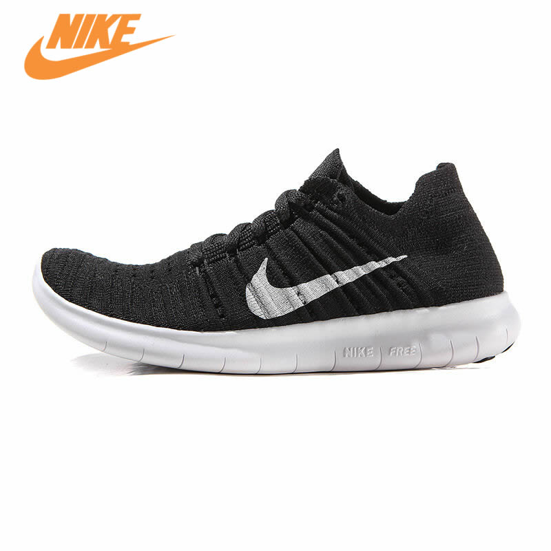 Original New Arrival Authentic Nike Free RN Flyknit Women's Breathable Running Shoes Sports Sneakers Trainers free shipping nike air vapormax flyknit breathable women men s running shoes sports sneakers outdoor athletic shoes eur 36 47