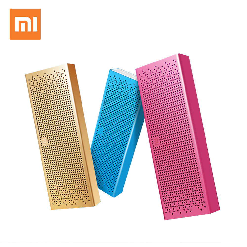 Original Xiaomi Mi Bluetooth Speaker Stereo Wireless Mini Portable Bluetooth Speakers Music MP3 Player Support Handsfree TF Card original xiaomi mi bluetooth speaker metal square box mini wireless stereo portable mp3 player handsfree bluetooth 4 0