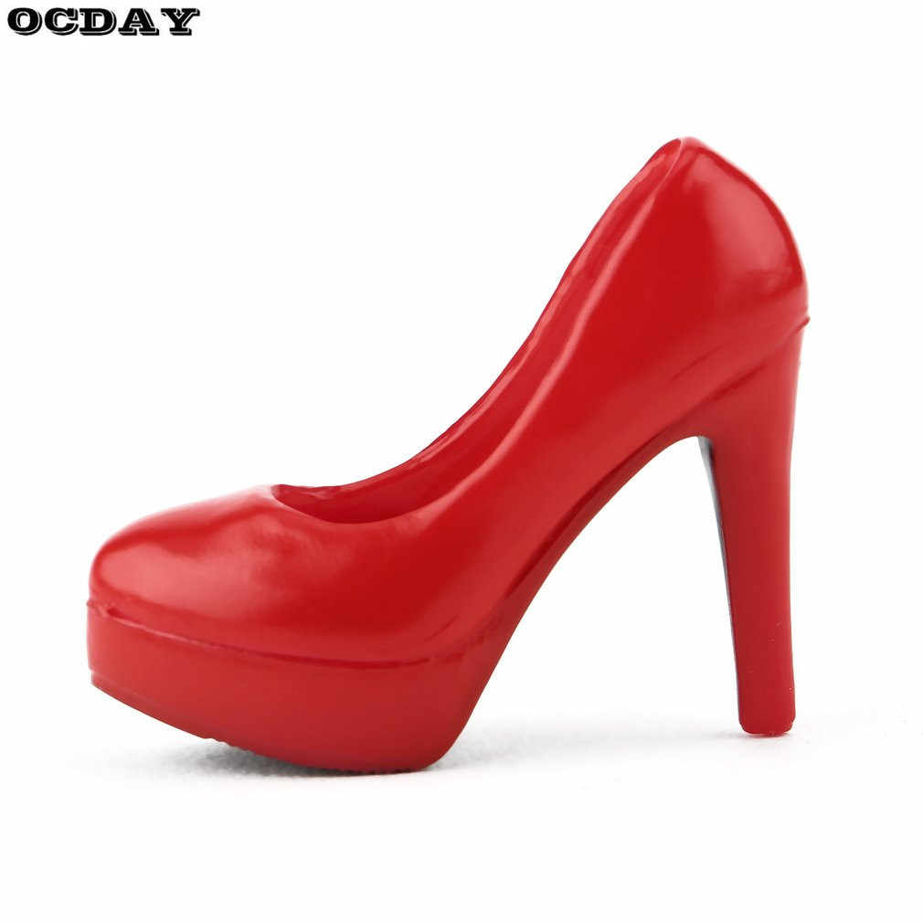 Ocday 1/6 Schaal Vrouwelijke Hoge Hakken Platform Hof Schoenen Voor 12 Inch Pop Gift Voor Meisjes Action Figure Speelgoed lichaam Accessoires