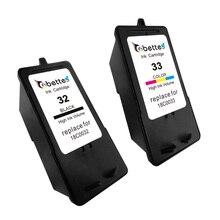 2PK, Картриджи для Lexmark 32 33 Принтер P315 P915 P450 P4330 P4350 P6210 P6250 X3350 X5250 X5270 X7170 X7300 Z815 Z816 Z810