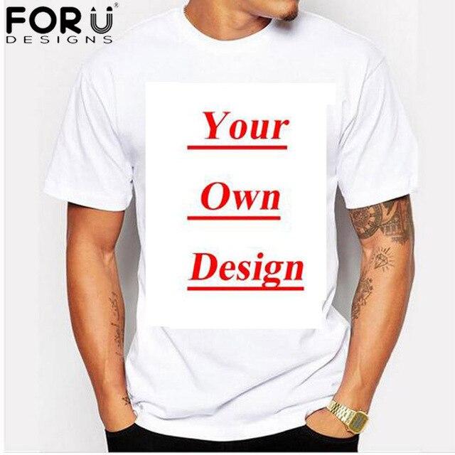 FORUDESIGNS T-Shirt Men Short Sleeve 3D Denim Cat Dog T Shirts Men Casual Tees Slim Fit Novelty Men T-Shirts Camisa Masculina 4