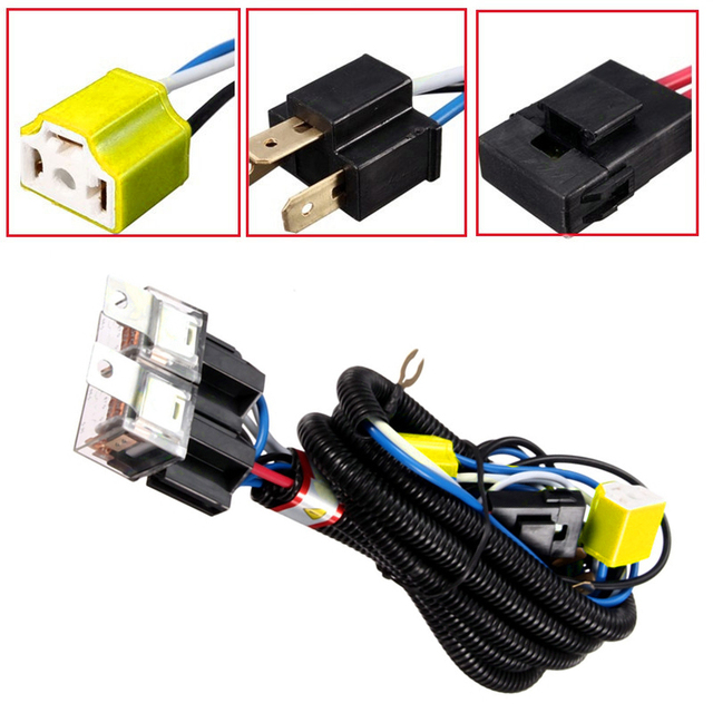 Strange H4 Relay Harness Wire Halogen 2 Headlight Ceramic Controller Socket Wiring Digital Resources Indicompassionincorg