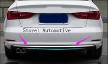 2012 2015 крышка заднего бампера седана отделка из нержавеющей