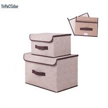 मोज़े अंडरवियर संबंधों के लिए मल्टीफंक्शन गैर बुने हुए कपड़े भंडारण बॉक्स ब्रा प्रसाधन सामग्री बच्चे खिलौने भंडारण बॉक्स