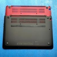 New for HP ENVY 4 ENVY4 1008 ENVY4 1040 TPN C102 Laptop Base Bottom Case Cover Red Black