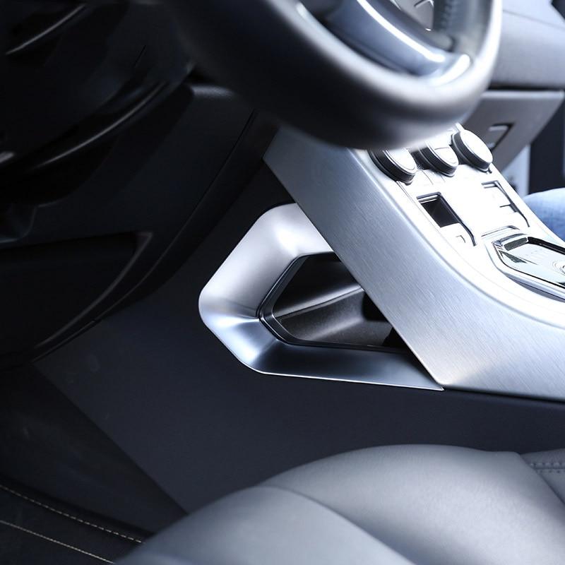 For Land rover Range Rover Evoque 12 17 Car Accessories Centeral Decoration U Shape Frame Trim