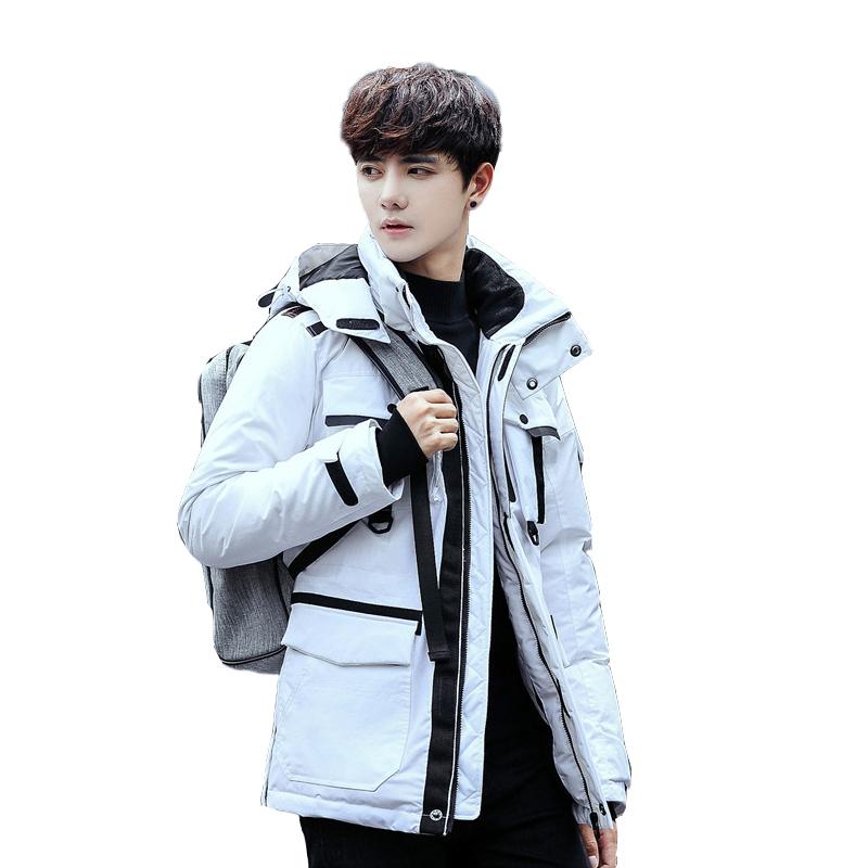 Men's Clothing Motivated 2018 New Casual Brand White Duck Down Jacket Men Autumn Winter Warm Coat Mens Ultralight Duck Down Jacket Male Windproof Parka Down Jackets