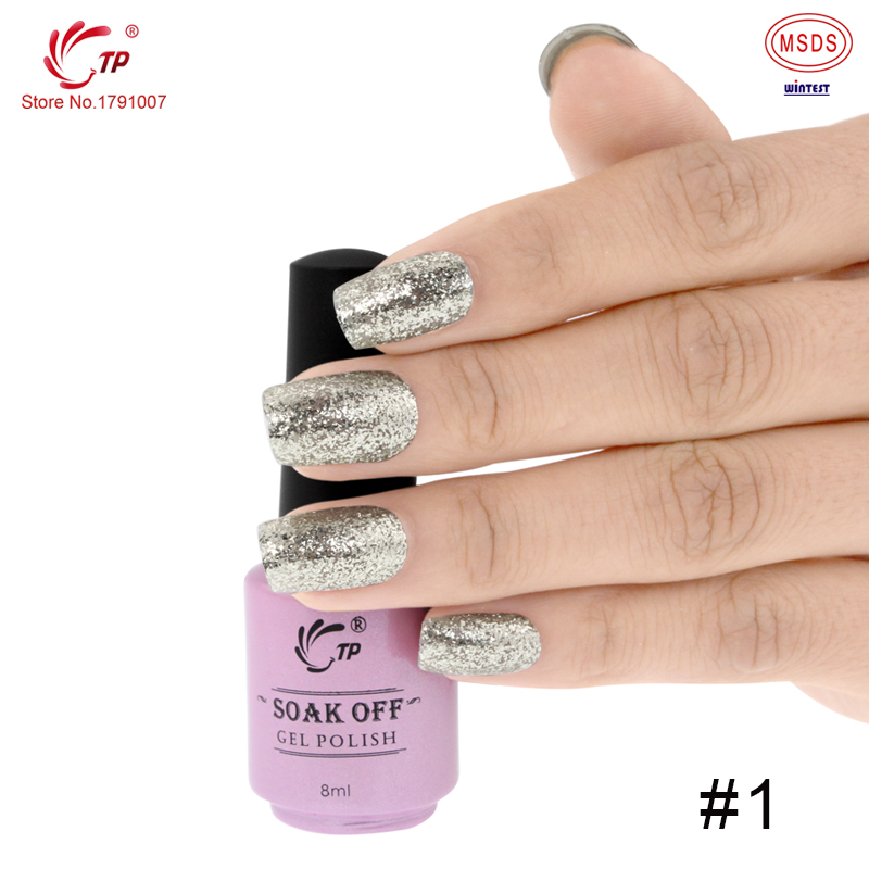 TP High Gloss Shiny Platinum Color Gel Persistent Non toxic Smooth ...