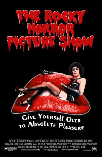 ROCKY HORROR PICTURE SHOW Movie Art Silk Poster 12x18 24x36