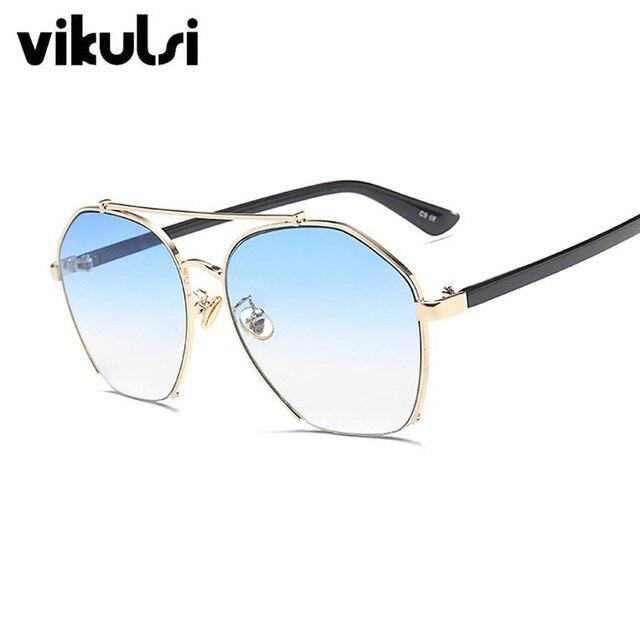 670a38eab2 Moda Unisex Gafas de Sol Mujer Hombre Popular Diseñador de la Marca de Lujo  gafas de