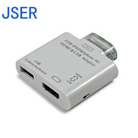 USB Connection Kit HDMI Video 2 In1 Adapter For IPad IPad 2 IPad 3 IPhone4 4s