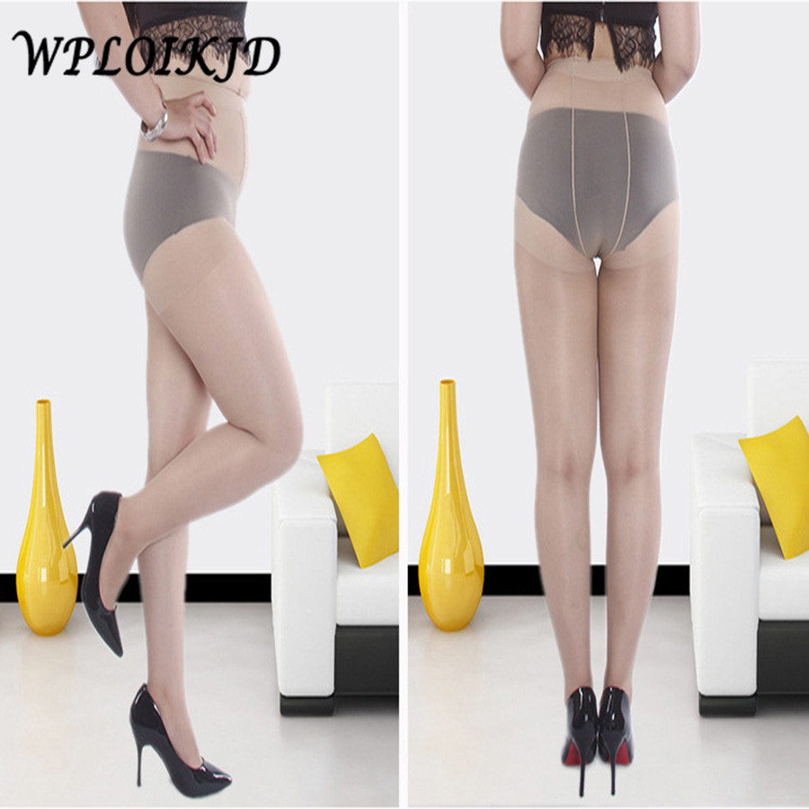 [WPLOIKJD]Summer Tights Sexy Ultra-Thin Women Superelasticity Fat Big Size Stockings Pantyhose Women Anti-Hook Wire