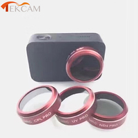Tekcam Action Camera Accessories Lens Filter Set UV CPL ND4 ND For Xiaomi Mijia Mini 4k