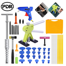 PDR Tools Car Paintless Dent Repair Tool To Remove Dents Puller Kit Glue Suction Cups For