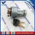 Переключатель зажигания 22B-06-11910 с 2 клавишами для экскаватора Комацу PC55MR-3 PC20MR-3 PC35MR-3