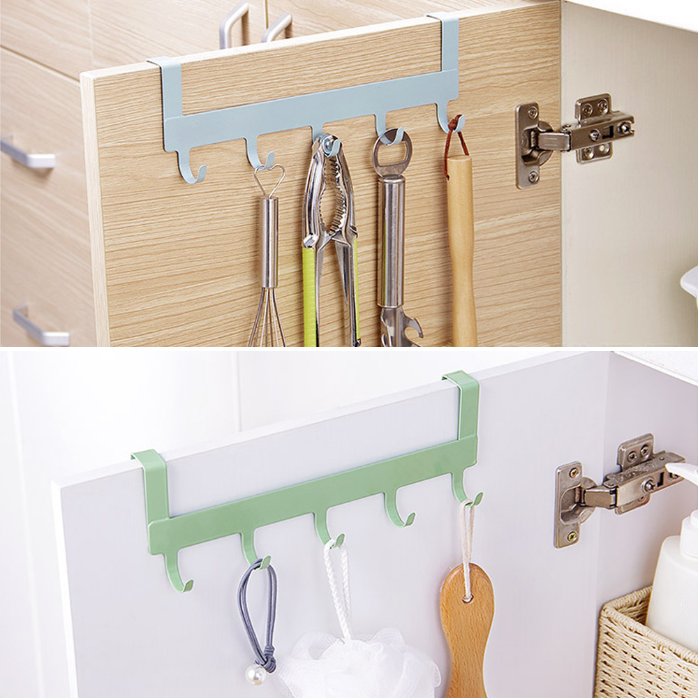 Kitchen Bathroom Door Hook Multifunctional Hanging Hooks Keys Coat Holder Robe Hook Towel Clothes Hook Rack Hooks Rails Aliexpress