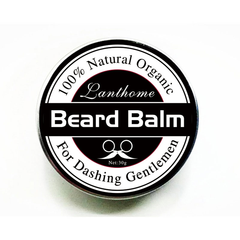 1 PCS Profession Men Beard Care Cream Moustache Beard Balm Natural Organic Treatment for Beard Growth Grooming Care Aid 30g H7JP 4