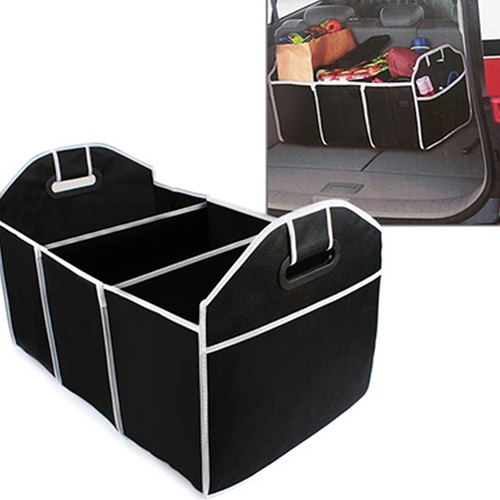 New Trendy Car Trunk Collapsible Storage Box Car Interior Accessories  Container Organizer
