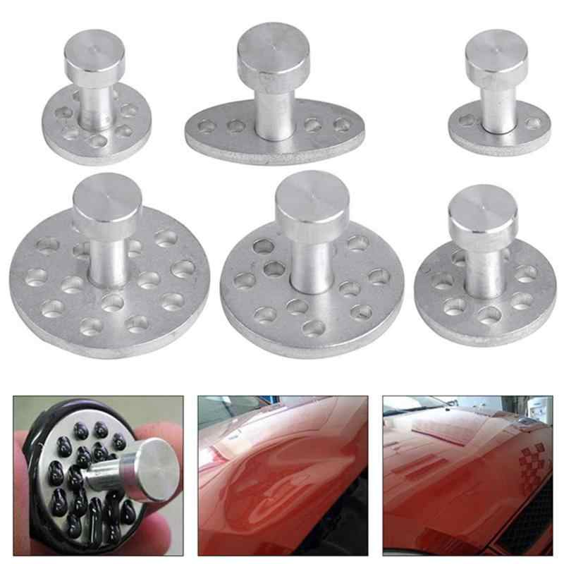 Puller Automobile Auto Repair Tools Dent Tabs paintless denting Hail body repair removing dents garage tooling 6 Pcs