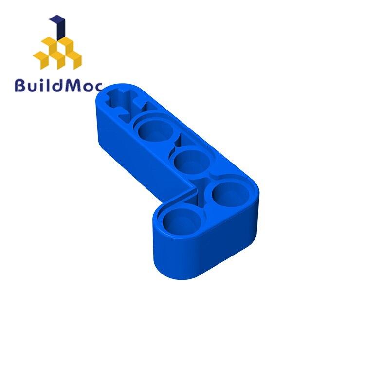 BuildMOC Compatible Assembles Particles 32140 2x4LFor Building Blocks Parts DIY LOGO Educational Creative Gift Toys