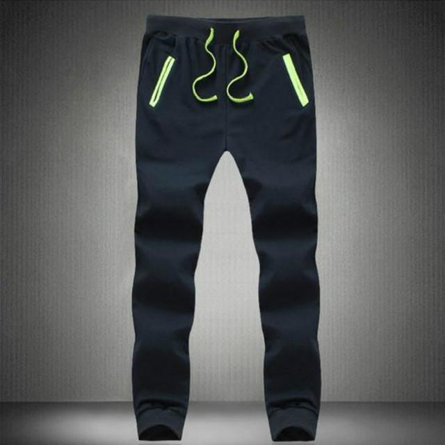 Envío Libre ocasional 2016 de primavera venta caliente de la nueva tendencia de ocio slim fit pantalones de los hombres de moda llena de pantalon M-5XL