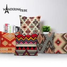 Pillow case geometric cushions home decor Custom pillow cover morocco cushion  outdoor Dropshipping