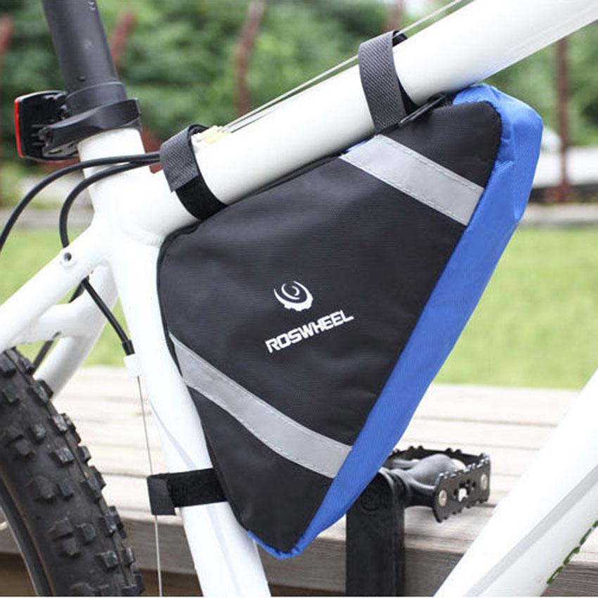 2 Farben Fahrradrahmen Packtaschen Vorne Rohr Tasche Dreieck Fahrrad ...