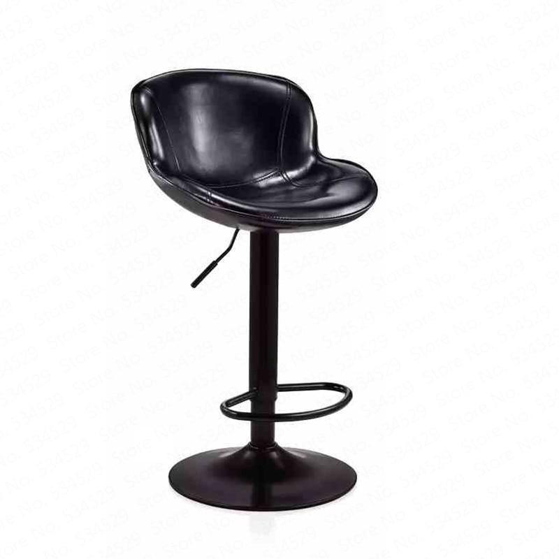 B Bar Chair Rotating Chair Modern Minimalist Bar Chair Bar Stool Back Bar Stool High Stool Front Desk Chair Home