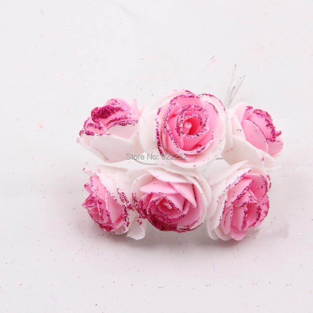 35cm Artificial Eva Floral Foam Glitter Rosesrosas Boutonnierediy