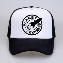 Rock-Band-Cap Baseball-Caps Planet Express Women Summer Men Mesh-Net Dad-Hat Cool