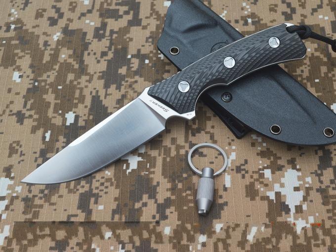 Sharp Handmade font b Tactical b font pocket font b knife b font VG10 blade carbon