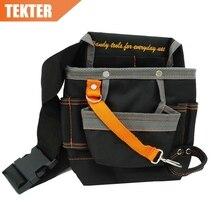 TEKTER High Quality 8 Pockets 600D Oxford Storage Bag Electrician Waist Tool Pouch holder work Belt 278g