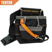 High Quality 8 Pockets 600D Oxford Bag Electrician Waist Tool Pouch Holder Work Belt 278g