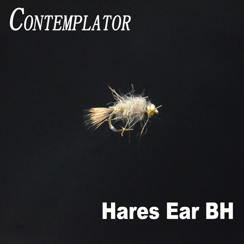 BH Bead Head Guides Choice Hares Ear Nymph Fly Fishing Flies 2 Flies Size 16