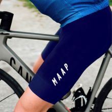 Mens Shorts MAAP Pro team summer cycling bib shorts Navy blue cuissard velo homme pro gelHigh elasticity with sweat ditch