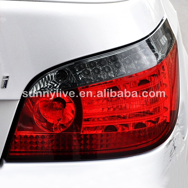 For BMW E60 5 Series 520i 523i 525i 528i 530i LED Tail Lamp 2008 To 2009 Year Red Black Color SN In Car Light Assembly From Automobiles Motorcycles On