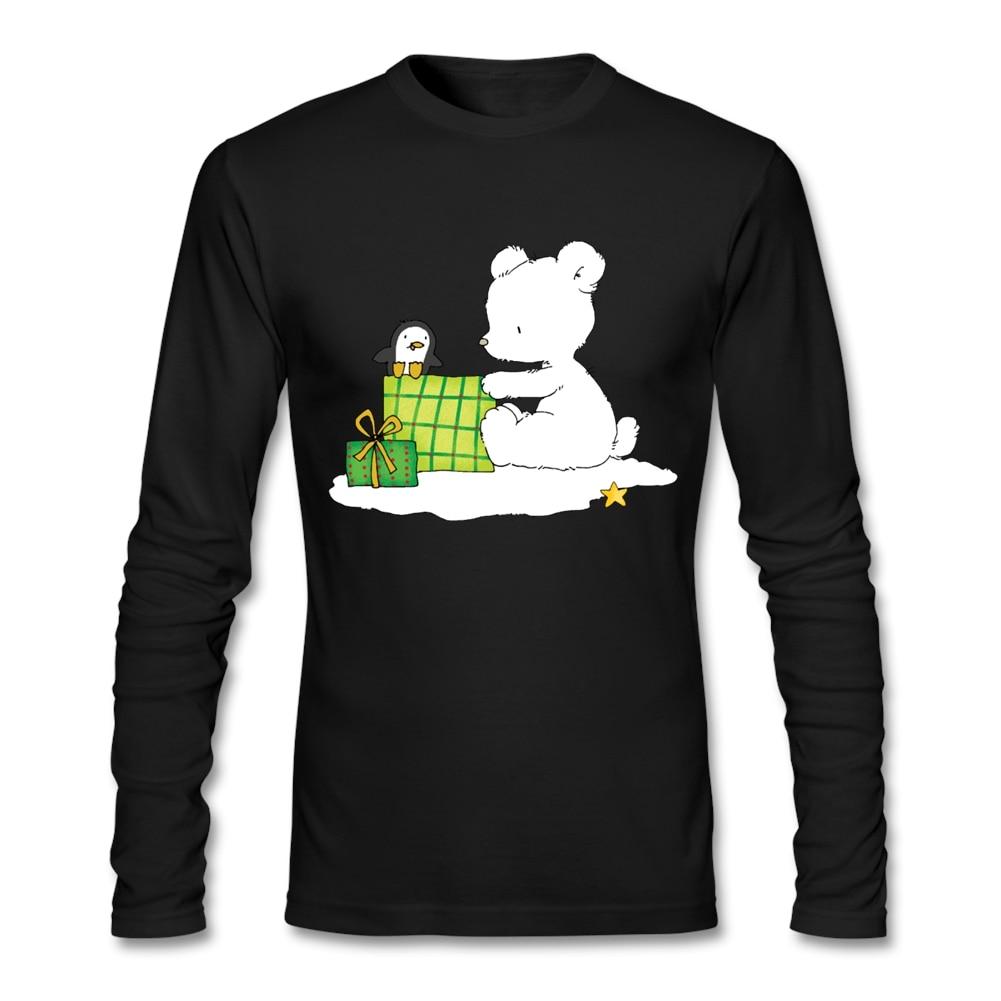 Design t shirt software online - Design T Shirt Software Online Tshirt Men S Baby Polar Bear With Christmas Gifts Round