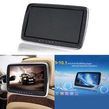"""10 """"Monitor Samochodowy Zagłówek 1024*600 Ekran LCD HD Digital Music Radio Odtwarzacz MP5 Dotykowy Przycisk Zdalnego Z kontrola USB/SD/HDMI/FM"""