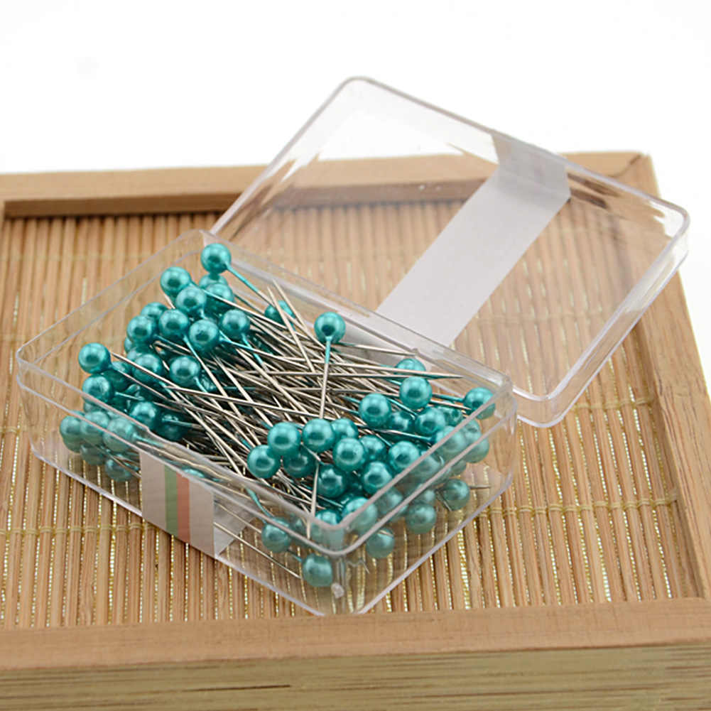 Needle Pins DIY Embellish Box Packed Sewing Tool Dress Making Pearl  Professional Craft