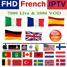 France Europe Acebird IPTV Subscription French Albania Dutch Spain UK Sweden US Canada For M3u Enigma2 Smart TV IOS Android Mac(China)