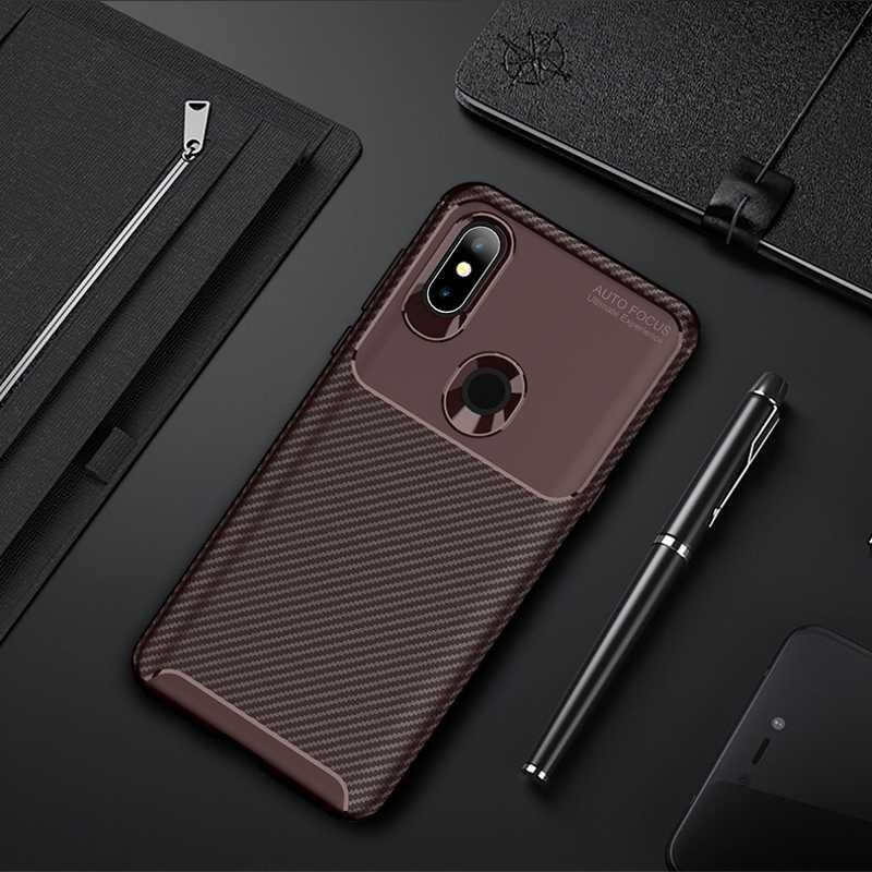غلاف لجهاز Xiao mi 9 SE 9T K20 mi 8 Pro SE غلاف مصنوع من ألياف الكربون والسيليكون لهاتف Xiao mi Pocophone F1 Poco F1 mi A3 Lite CC9E