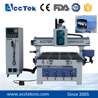 China ATC 5 5kw Spindle Motor Cnc Auto Router Machine Manufacturer